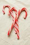 Doces vermelhos do Natal Imagem de Stock