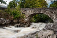 The Dochart Falls in Scotland Stock Photo