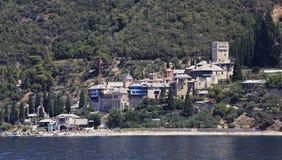 Docheiariou monastery. Mount Athos. Stock Photography
