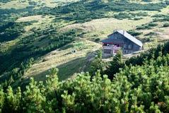 Dochia hut view Stock Photography