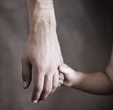 Dochter en vader Royalty-vrije Stock Foto's