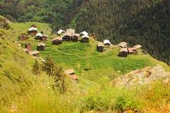 Dochu village. Tusheti region (Georgia) Stock Image