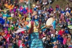 Dochula Druk Wangyel festival 2014 Arkivbilder