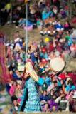 Dochula Druk Wangyel festival 2014 Arkivfoton