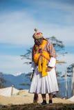 Dochula Druk Wangyel Festival 2014. THIMPHU - BHUTAN, DECEMBER 13 : Dochula Druk Wangyel Festival 2014. December 13, 2014 Stock Image