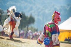 Dochula Druk Wangyel Festival 2014. THIMPHU - BHUTAN, DECEMBER 13 : Dochula Druk Wangyel Festival 2014. December 13, 2014 Royalty Free Stock Images