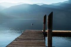 Dock à la station de vacances de Wapato Image libre de droits
