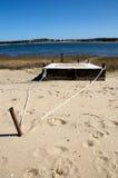 Dock à marée basse Image libre de droits