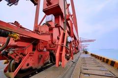 Dock à Xiamen, Fujian, Chine Images stock