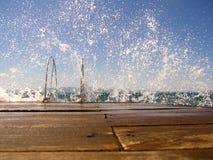 Dock Lizenzfreie Stockfotos
