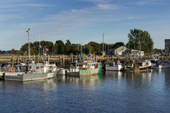 Am Dock Stockfoto