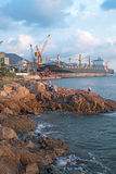 Dock basin Stock Image