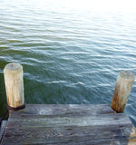 Dock on the Bay Royalty Free Stock Image