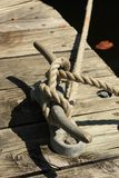 Dock Boat Anchor royalty free stock image