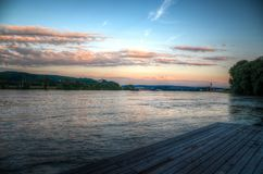 Dock on Calm Body of Water Royalty Free Stock Image