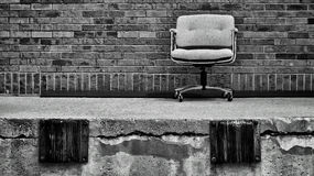 Dock chair Royalty Free Stock Photo