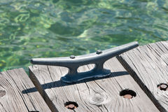Dock Cleat Stock Photo