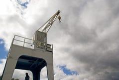 Dock crane royalty free stock images