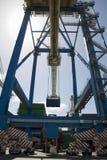 Dock Crane At Limassol Cyprus Royalty Free Stock Photography