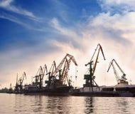 Free Dock Cranes Stock Image - 30456981