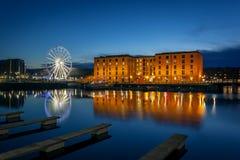 Dock d'Albert, Liverpool Angleterre Photos stock