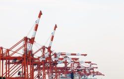 Dock d'expédition Photo libre de droits