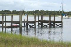 Dock d'océan Image stock