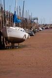 Dock de bateau à Ville d'Oklahoma Images libres de droits
