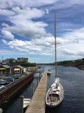 Dock de bateau (2) image libre de droits