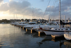 Dock de bateau Photographie stock