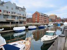 Dock de bateau photographie stock libre de droits