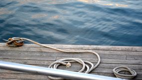 Dock de bateau (2) Photo libre de droits