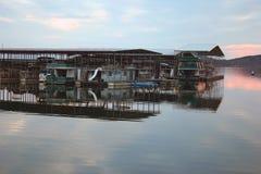 Dock de bateau Photo stock