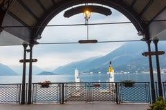 Dock de Bellagio Photographie stock libre de droits