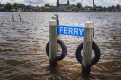 Dock de ferry Image stock