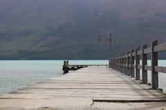 Dock de Glenorchy Photo stock
