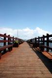 Dock de Lake Tahoe Image libre de droits