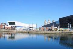 Dock de mise en boîte, Liverpool Image libre de droits