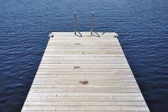 Dock de natation photos stock