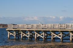 Dock 5177 de pêche Photographie stock libre de droits