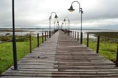 Dock de Soriano de villa Photo libre de droits
