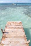 Dock des Caraïbes Images stock