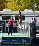 Dock Dog National Championship Big Air Event Stock Image