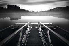 Dock in einem Traum stockfotografie