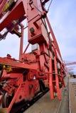 Dock equipment, Xiamen, Fujian, China Stock Photo