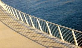 Dock flottant Image libre de droits