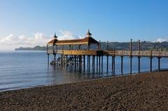 Dock of Frutillar, in Chile Stock Photos