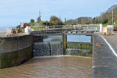 Dock Gates Royalty Free Stock Photo
