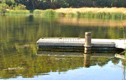 A dock Royalty Free Stock Photo