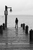 Dock Harbor Puget Sound Seattle Washington State Fishing Boat. B royalty free stock photos